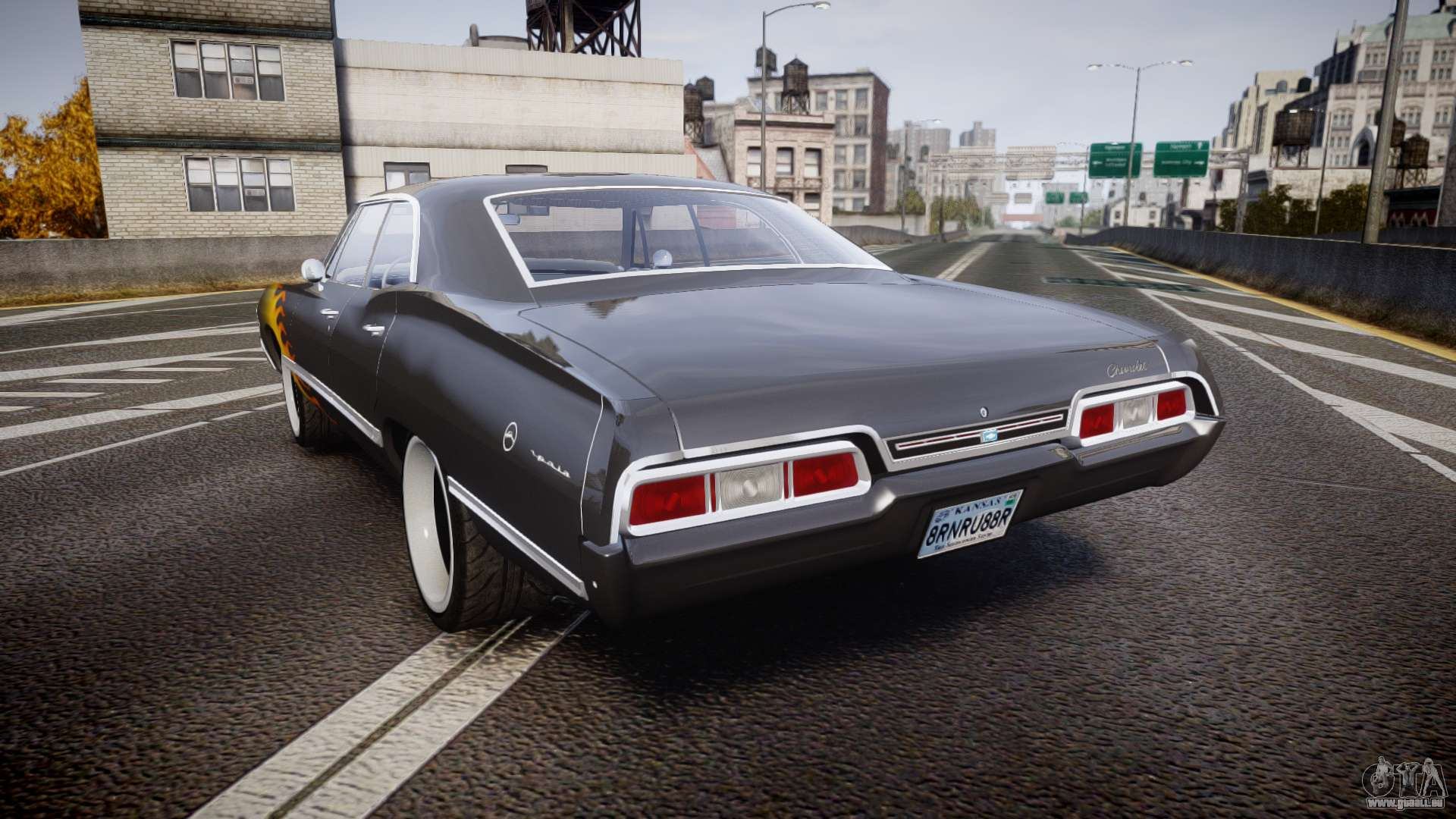 Chevrolet Impala 1967 Custom Livery 2 Pour Gta 4