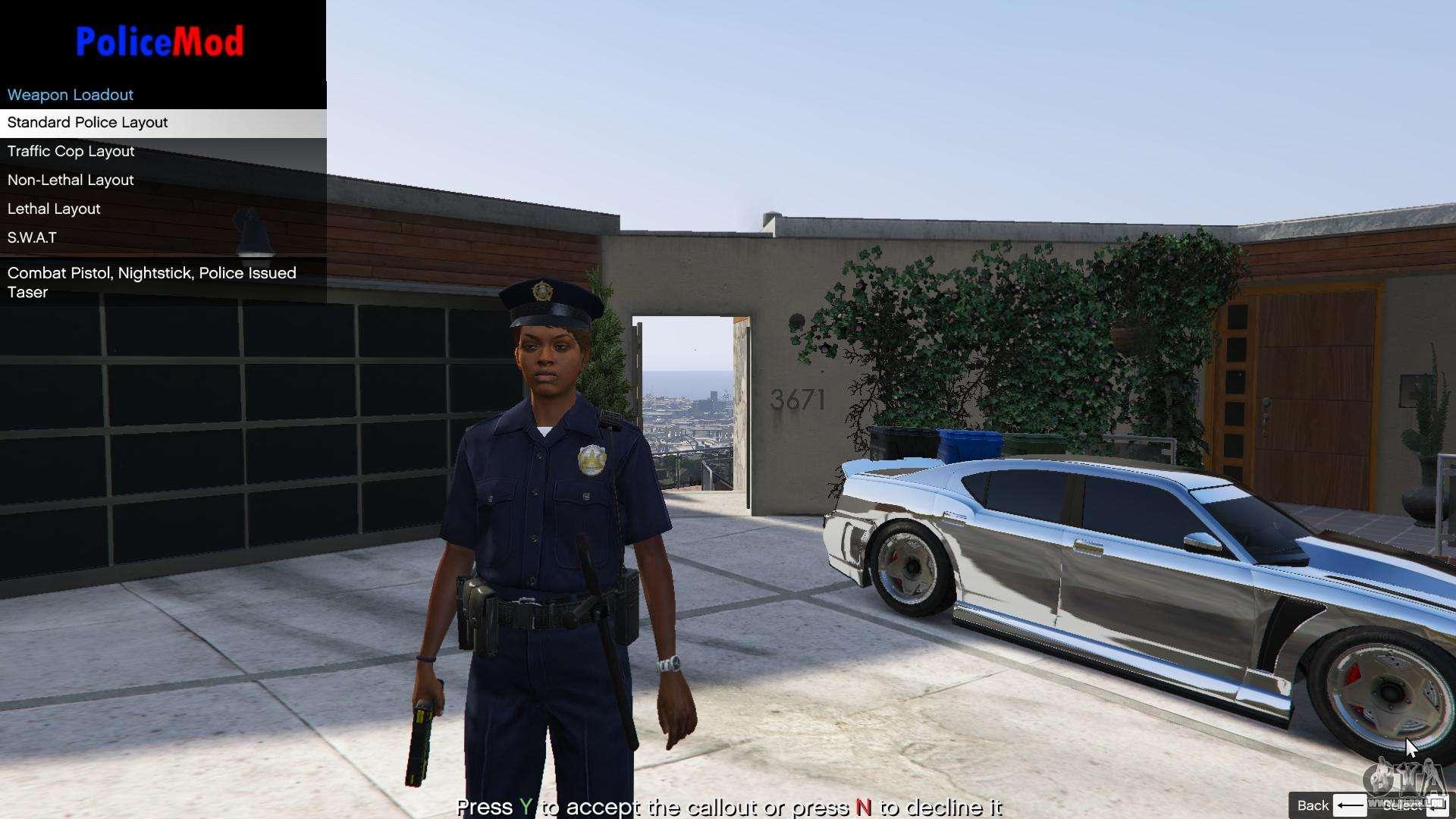 PoliceMod 2 2 0 2 pour GTA 5