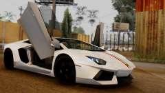 Lamborghini Aventador LP 700-4 2012 pour GTA San Andreas