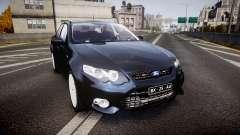 Ford Falcon FG XR6 Unmarked Police [ELS] v2.0 für GTA 4