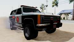Police Ranger with Lightbars pour GTA San Andreas