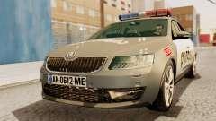 Skoda Octavia A7 Georgia Police pour GTA San Andreas