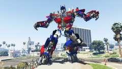 La Statue De Optimus Prime