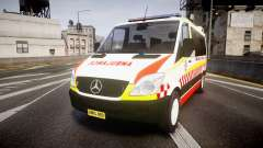 Mercedes-Benz Sprinter NSW Ambulance [ELS] pour GTA 4