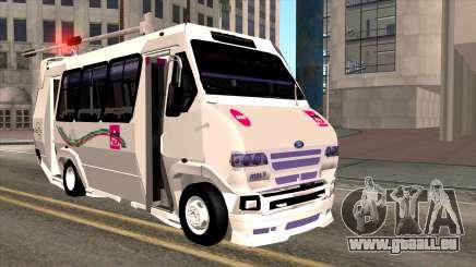 Ford Prisma IV Microbus pour GTA San Andreas