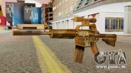 CAR-15 SA Style pour GTA San Andreas