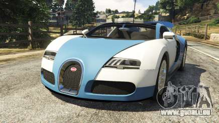 Bugatti Veyron Grand Sport v2.0 für GTA 5