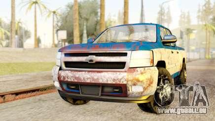Chevrolet Silverado 2010 TLoU Edition pour GTA San Andreas