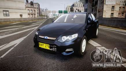 Ford Falcon FG XR6 Unmarked NSW Police [ELS] pour GTA 4