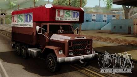 New Flatbed Industrial für GTA San Andreas