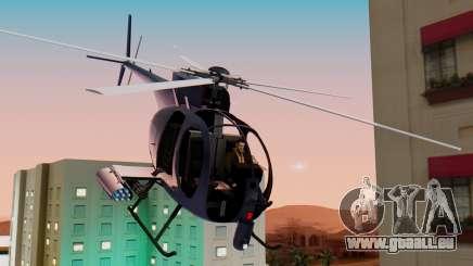 GTA 5 Buzzard für GTA San Andreas