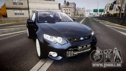 Ford Falcon FG XR6 Unmarked Police [ELS] v2.0 pour GTA 4