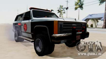 Police Ranger with Lightbars für GTA San Andreas
