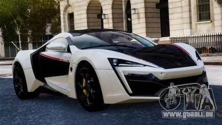 Lykan Hypersport 2015 EPM für GTA 4