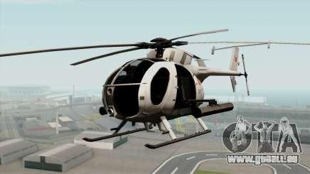 AH-6J Little Bird pour GTA San Andreas