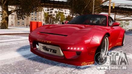 Mazda RX-7 RocketBunny EPM pour GTA 4