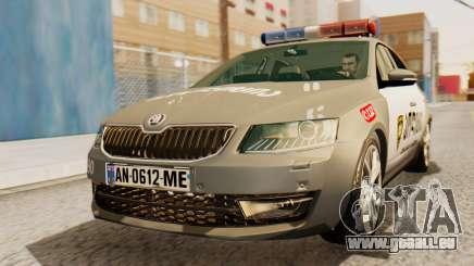 Skoda Octavia A7 Georgia Police für GTA San Andreas