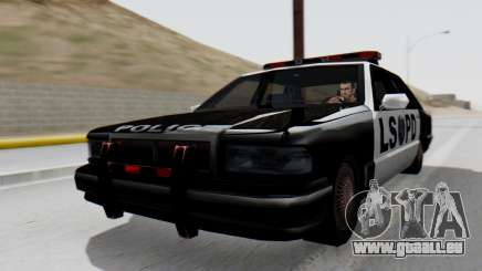 Police LS with Lightbars für GTA San Andreas