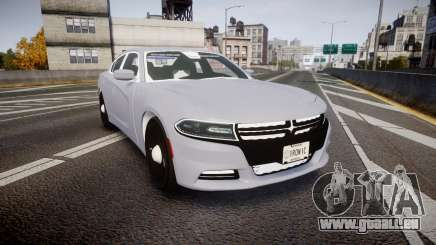 Dodge Charger 2015 Unmarked [ELS] für GTA 4