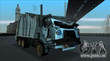 TDK Volvo Xpeditor Garbage Crash Version für GTA San Andreas