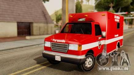 SAFD Ambulance für GTA San Andreas
