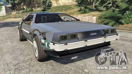 DeLorean DMC-12 Back To The Future v0.1 pour GTA 5