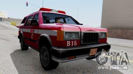 FDSA Fire SUV pour GTA San Andreas