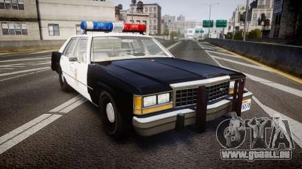 Ford LTD Crown Victoria 1987 LAPD [ELS] für GTA 4