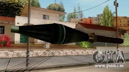 Original HD Missile für GTA San Andreas
