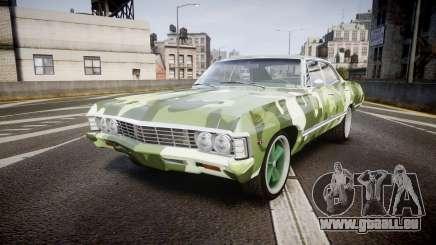 Chevrolet Impala 1967 Custom livery 6 für GTA 4