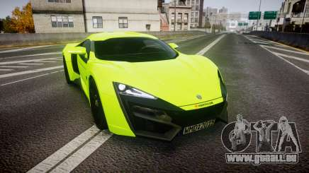 Lykan HyperSport 2014 [EPM] pour GTA 4