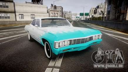 Chevrolet Impala 1967 Custom livery 1 für GTA 4