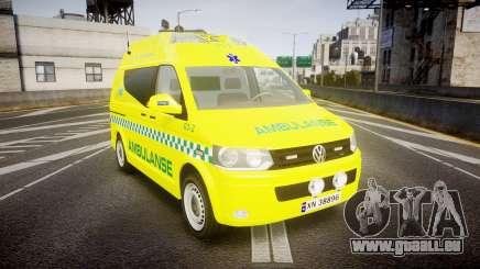 Volkswagen Transporter Norwegian Ambulance [ELS] pour GTA 4