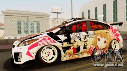 Toyota Prius JDM 2011 Itasha für GTA San Andreas