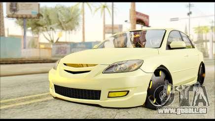 Mazdaspeed 3 Daglow v2 pour GTA San Andreas