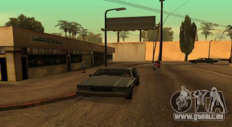 PS2 Graphics for Weak PC für GTA San Andreas