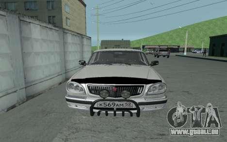 GAZ 31105 Volga für GTA San Andreas rechten Ansicht