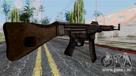 StG 44 from Battlefield 1942 pour GTA San Andreas deuxième écran