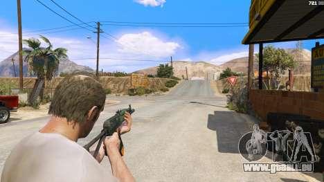 AEK-971 из Battlefield 4 für GTA 5
