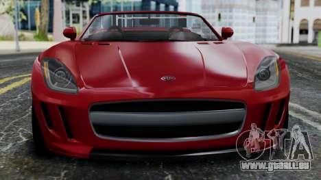 GTA 5 Benefactor Surano v2 IVF für GTA San Andreas Innenansicht