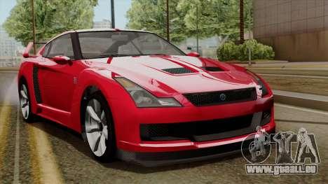 GTA 5 Elegy RH8 für GTA San Andreas linke Ansicht