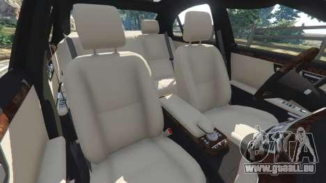 GTA 5 Mercedes-Benz S550 W221 v0.4.2 [Alpha] volant