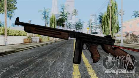 Thompson from Battlefield 1942 pour GTA San Andreas