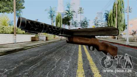 MP18 from Battlefield 1942 pour GTA San Andreas
