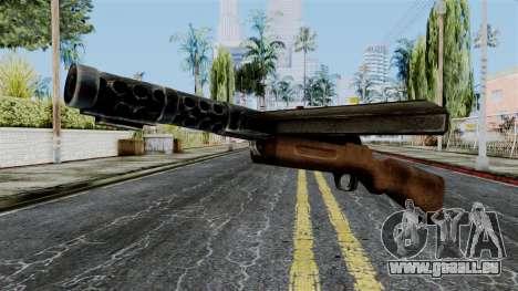 MP18 from Battlefield 1942 für GTA San Andreas