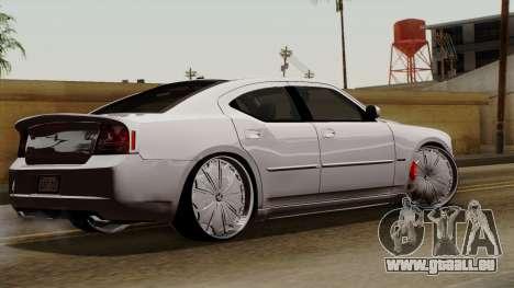 Dodge Charger 2006 DUB für GTA San Andreas linke Ansicht