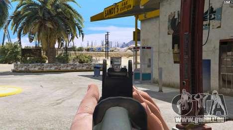 GTA 5 SAIGA von Battlefield 4 vierten Screenshot