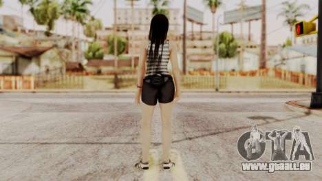 DOA 5 Kokoro Casual für GTA San Andreas dritten Screenshot
