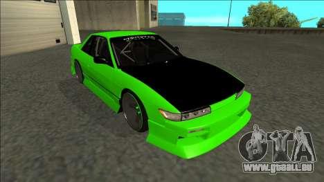 Nissan Silvia S13 Drift Monster Energy für GTA San Andreas linke Ansicht