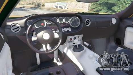 GTA 5 Ford GT 2005 v1.1 Lenkrad